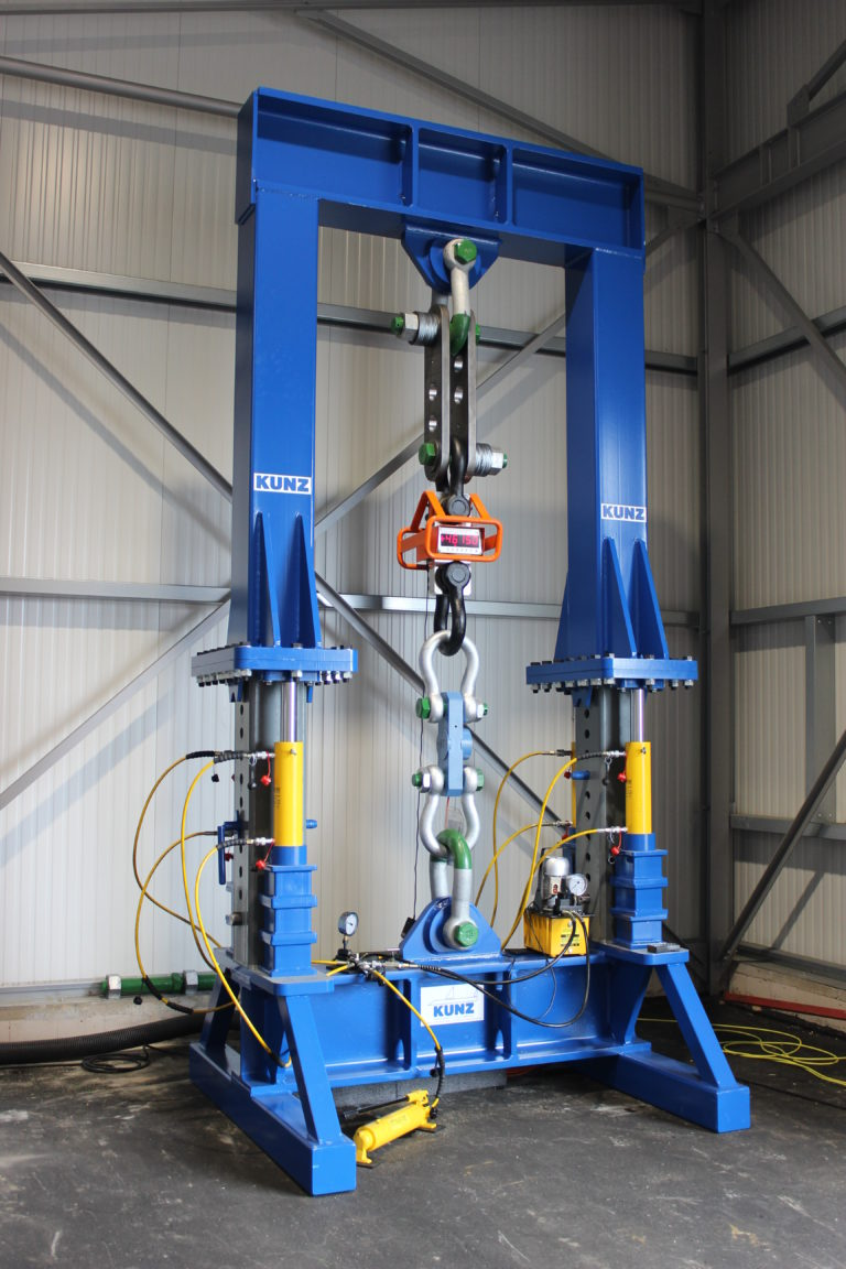 KUNZ Calibration Test Stand
