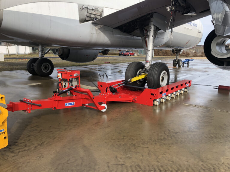 recovery dolly, flat tire, recovery, KUNZ, AMS, ResQtec
